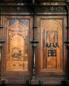 Tarsie  nel Duomo di Siena