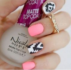 23 matte nail art ideas that prove this trend is here to stay page 27 Get Nails, How To Do Nails, Hair And Nails, Pink Nails, Matte Pink, Nail Swag, Matte Nail Art, Acrylic Nails, Gorgeous Nails