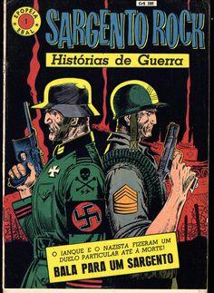Sargento Rock - Epopéia #1  (Sgt.Rock, DC)  Joe Kubert  Ebal  from Brasil