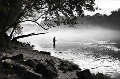 Lake Taneycomo, fishing in Branson MO