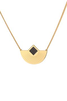 Collier doré Cuzco Doré Anne Thomas sur MonShowroom.com