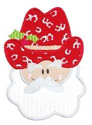 Cowboy Santa Applique - 3 Sizes! | Christmas | Machine Embroidery Designs | SWAKembroidery.com Kimberbell Kids