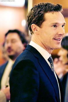Benedict @Harper's Bazaar dinner party, The Beaumont Hotel, London, 10/13/14 (x)