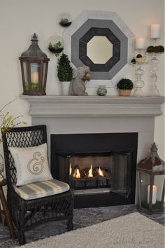 This mirror from homegoods was a fabulous find! Rich Home, Fireplace Mantle, Home Staging, My Dream Home, Interior Decorating, Decorating Ideas, Beautiful Homes, Home Goods, Family Room