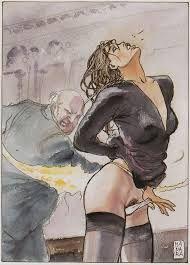 Risultati immagini per milo manara erotic