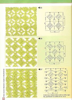 16 Ideas For Crochet Shawl Tutorial Libraries Crochet Stitches Chart, Crochet Motifs, Crochet Diagram, Knitting Charts, Crochet Basics, Crochet Squares, Knitting Patterns, Crochet Patterns, Stitch Patterns
