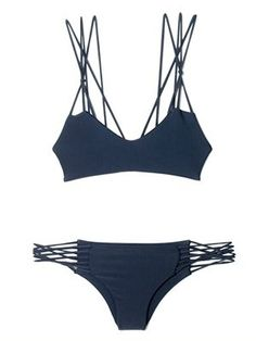 bathing suit- my style, if i can make sure I don't have slivers of fat squeezing out between each loop... just sayin'