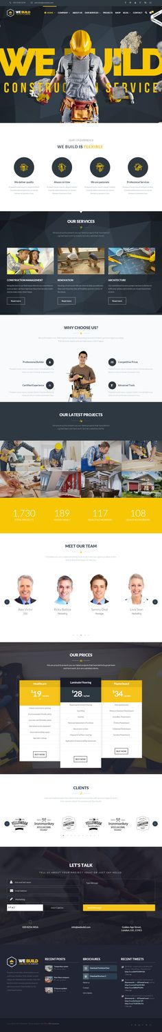 We Build is Premium Responsive Retina #Parallax #WordPress #ConstructionCompany Theme. Bootstrap 3. WooCommerce. BuddyPress. bbPress. Free demo at: http://www.responsivemiracle.com/cms/build-premium-responsive-construction-building-wordpress-theme/