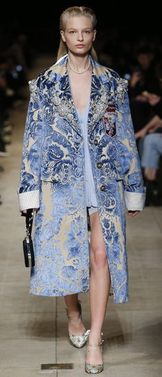 Miu Miu coat styled with sweatshirt, boyfriend jeans and ANY SHOES.. Timeless....