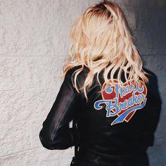 Heartbreaker Leather Jacket - $120.00 http://www.danielleguiziony.com/women/leather-jacket