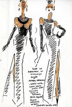 Hubert de Givenchy sketch