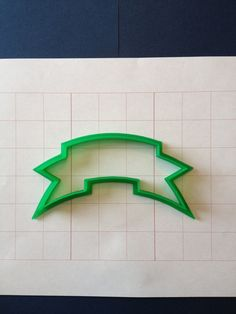 Banner 1 Cookie Cutter by PlasticsinPrint on Etsy, $7.00