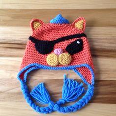 Kwazii Octonaut hat size 5-10 years by SyrenkaHats on Etsy