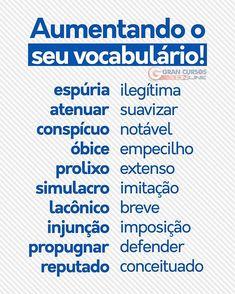 Build Your Brazilian Portuguese Vocabulary Portuguese Grammar, Portuguese Lessons, Portuguese Language, Learn Brazilian Portuguese, Portuguese Brazil, Portuguese Food, Study Techniques, Study Organization, Study Planner