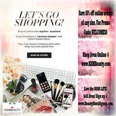 Current Avon Coupon Codes @ www.KSMBeauty.com #BeautyDeals #MakeupDeals #MakeupLover #Avon #BuyAvon #AvonRep