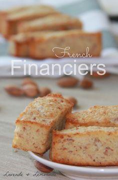 Amazingly Delicious! French Financier Almond Cakes by Lavende & Lemonade