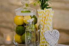 Give your wedding day all the charm and warmth of the Mediterranean using this Mediterranean lemon reception theme and decor picks