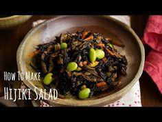 Hijiki Seaweed Salad ひじきの煮物 • Just One Cookbook