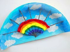 Weaving rainbow