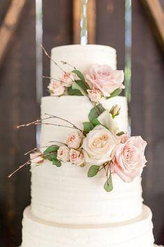 soft pink rose wedding cake topper