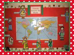 KinderbyKim's Blogspot!: Friends Around the World Freebie!