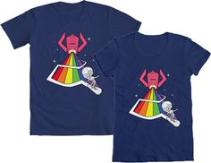 Hey hey hey, it's WE LOVE FINE WEDNESDAY!  Do you love our Marvel Kawaii Silver Surfer (and Galactus!) tee? Repin this post before next Tuesday and you're entered to WIN one! Mens and womens' sizes available! Good luck!  Repin and WIN!
