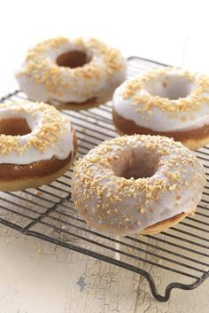 Gluten-Free Classic Baked Doughnuts made with baking mix Recipe