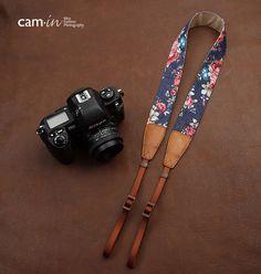 SLR Camera straps, Denim leather camera straps Canon/ Nikon /Sony camera straps