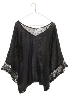 nili lotan lace top - black, but looks cool for summer