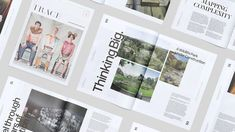 Trace Magazine by SocioDesign | Inspiration Grid | Design Inspiration
