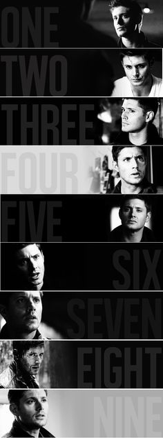 Supernatural - Dean Winchester.  Nothing hurts more than watching the light bleed out if his eyes
