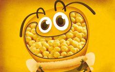 Diseño de packaging de los cereales infantiles Eroski. Móntate el zoo en casa y vive una experiencia salvaje.