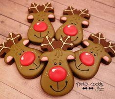 Image result for white pastel reindeer sugar cookie