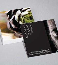 Square Business Card Design Templates