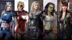Female Avengers-good to have on your team