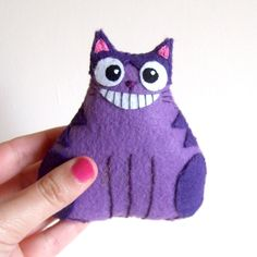 Cheshire cat fat cat plushie by ~yael360 on deviantART