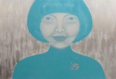 "Saatchi Art Artist Ta Thimkaeo; Painting, ""SOLD feeling blue"" #art"