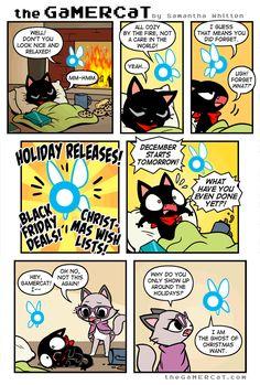 the GaMERCaT :: Holiday Bomb   Tapastic Comics - image 1