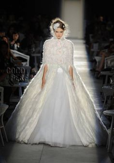 """Anything that Karl Lagerfeld touches turns into gold fashion that is to-die-for and the latest Chanel Haute Couture collection is just that.  For the fall season, Karl whipped up a """"new..."""