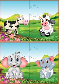 Mother and baby animals matching puzzle activities for toddlers Fun Classroom Activities, Animal Activities, Animal Games, Kindergarten Activities, Preschool Activities, Fun Worksheets For Kids, Puzzles For Kids, Animal Matching Game, Mother And Baby Animals