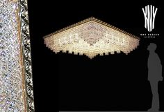 Decorative Ceiling Lights, Ceiling Decor, Crystal Ceiling Light, Led, Light Decorations, Swarovski Crystals, Plating, Interior Design, Lighting