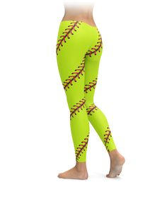 Some girls like it fast, others go slow. Some go over, others go under. Whichever way you like to play, these softball leggings have got you covered!