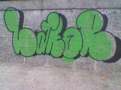 Graffiti - Bellvue in Zürich [Switzerland]
