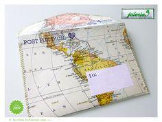 > 1 handgenähter Briefumschlag > gefüttert mit Satin Wrap© Seidenpapier > säurefrei und 100% Recycling Papier  > Umschlag passend für Din A6 > ...