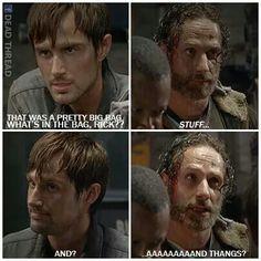 Rick Grimes ~ The Walking Dead ~ LMFAO!