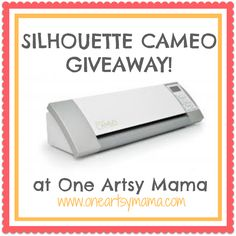 One Artsy Mama - http://www.oneartsymama.com/2013/08/silhouette-portrait-giveaway-a-vinyl-promo-and-project.html