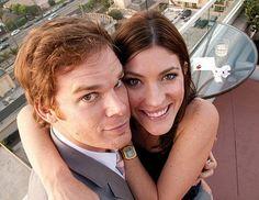 Michael C. Hall and Jennifer Carpenter. =D