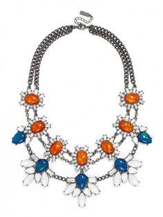 Sun Opal Locust Bib #fashionjewelry #baublebar
