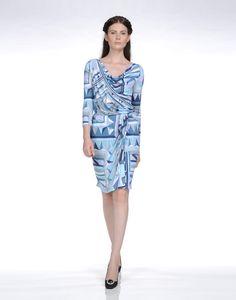 3/4 length dress Women - Dresses Women on EMILIO PUCCI Online Store