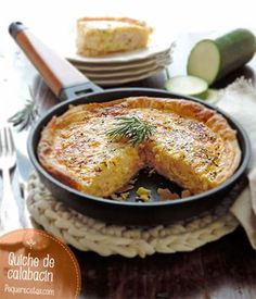 The Anabolic Cooking Cookbook Quiches, Omelettes, Tapas, Love Food, A Food, Food And Drink, Easy Cooking, Cooking Recipes, Zucchini Quiche